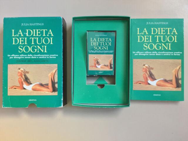 La dieta dei tuoi sogni di Julia Hastings con audiocassetta Ed. Armenia 1996