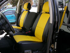 DODGE RAM 1500 2500 3500 1998-2002 IGGEE S.LEATHER CUSTOM SEAT COVER 13 COLORS