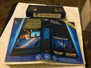 Final-Approach-VHS-video-tape-futuristic-Sci-fi-science-fiction-Psychology-HTF