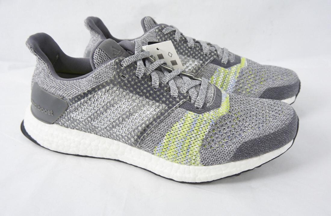Adidas ultraboost st stabilität laufen sneaker stricken grauen hellgrünen stricken sneaker schuh männer 8,5 5aeff2
