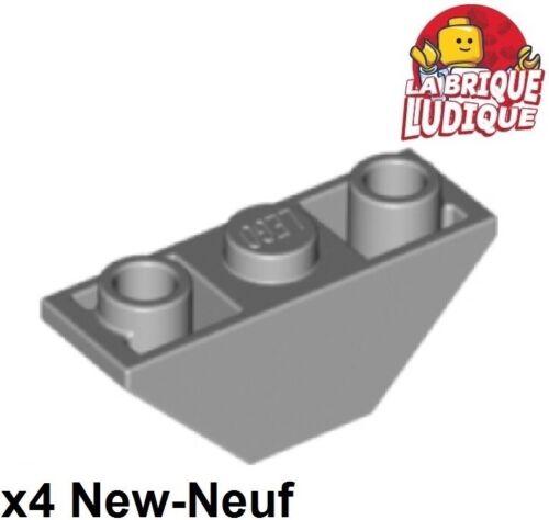 Light B Gray 2341 Neu Lego 4x Slope Inverted Slope Reverse 45 3x1 Dual Grau