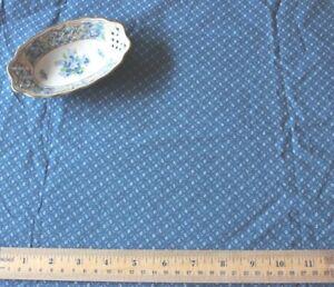 Antique-19thC-Old-Cotton-Indigo-Fabric-Material-c1880-L-55-034-X-W-34-034-Dolls-Quilts