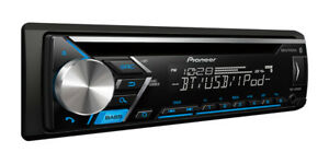 NEW-Pioneer-DEH-S4000BT-Single-1-DIN-CD-MP3-Player-Bluetooth-MIXTRAX-USB-AUX