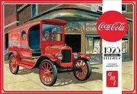 Amt Coca Cola 1923 Ford Model T Delivery 1/25 Plastic Model Car Kit 1024