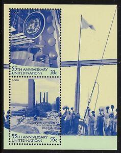 UN-Scott-NY-781-Souvenir-Sheet-1999-Complete-Set-FVF-MNH