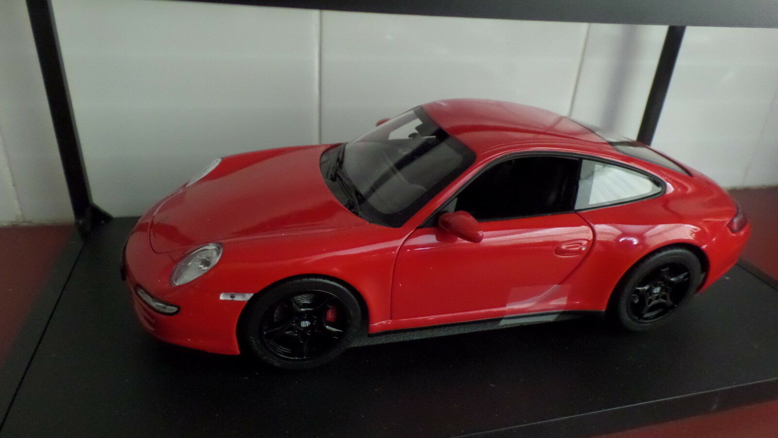 Porsche Carrera 4S Coupe in Red - by Norev 1 18 scale FREE POSTAGE AUST