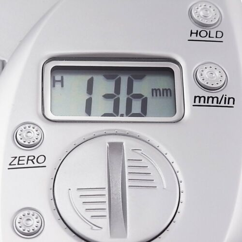 Digital Fat Caliper Body Measurement Tool mm inch Body Skin Health Monitoring
