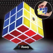 Ufficiale Cubo Di Rubik Luce Lampada Regalo Novità - Con Scatola Notturna Rétro