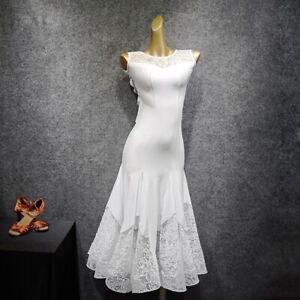 NEW-Latin-Ballroom-Dance-Dress-Modern-Salsa-Waltz-Standard-Long-Dress-G296