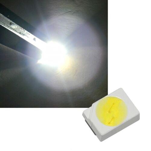 10 bianchi 3020 SMD LED, 5,9 Lumen di Seul/SOP 2 Bianco LED SMDs WHITE Blanch
