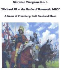 "25/28mm Skirmish Wargame ""Richard III at the Battle of Bosworth"" Medieval"