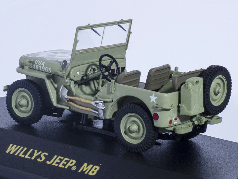 1 1 1 43 WILLYS JEEP MB U.S. ARMY UNITED STATES DIECAST Greenlight Car Model Limited c2fd21