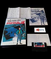 LUPIN THE 3RDTHE CASTLE OF CAGLIOSTRO MSX 2 Mega Rom Japanese Version TOHO