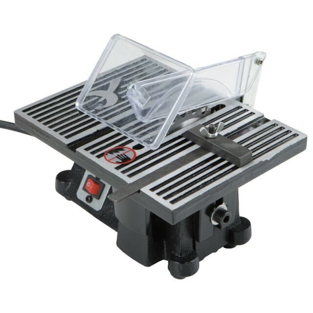 """4"""" MINI ELECTRIC TABLE SAW TABLESAW GREAT FOR HOBBY OR CRAFT FREE SHIPPING!!!"""