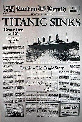 """VINTAGE REPRINT ADVERT TITANIC SHIP WHITE STAR LINE ROYAL STEAMER 11/""""x14/"""" 711L"""