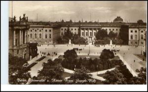 BERLIN-alte-AK-Kaiser-Franz-Joseph-Platz-m-Universitaet