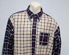 Brooks Brothers 346 Non-Iron Cotton Long Sleeve Shirt Plaids Checks Mens Size XL