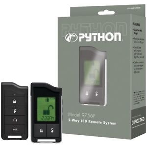 Python-9756P-2-Way-LCD-RF-Remote-amp-Antenna-1-Mile-Range-FAST-SHIPPING-BRAND-NEW