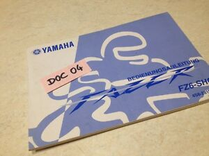 manual owner yamaha fz6 shg 600 fazer deutsch owner s manual ed 06 rh ebay ie 2006 cobalt owners manual pdf 06 cobalt owners manual