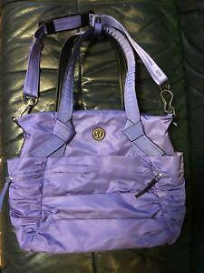 e0dede93db Image is loading Lululemon-Athletica-Triumphant-Persian-Purple-Oversize-Tote -Gym-