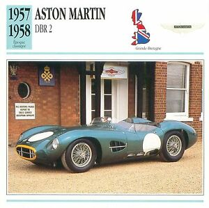 Aston-Martin-DBR2-Course-1957-1958-GB-UK-CAR-VOITURE-CARTE-CARD-FICHE