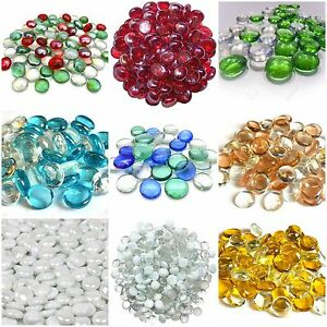Decorative-Glass-Pebbles-Stones-Beads-Vase-Nuggets-Wedding-Decoration-Home