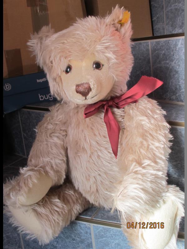 Steiff Classic Teddy   Brummstimme ca.55cm groß groß groß unbespielt aus Sammlung 6d9519