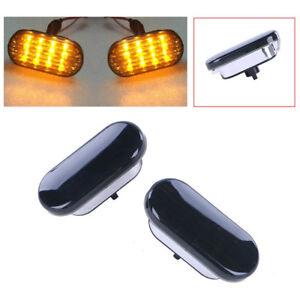2Pcs-12V-Car-Amber-Plastic-LED-Side-Marker-Light-for-VW-Golf-Jetta-Bora-Passat