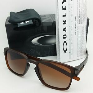 Oakley Latch Squared >> New Oakley Mens Latch Squared Sunglasses Matte Rootbeer Dark Brown