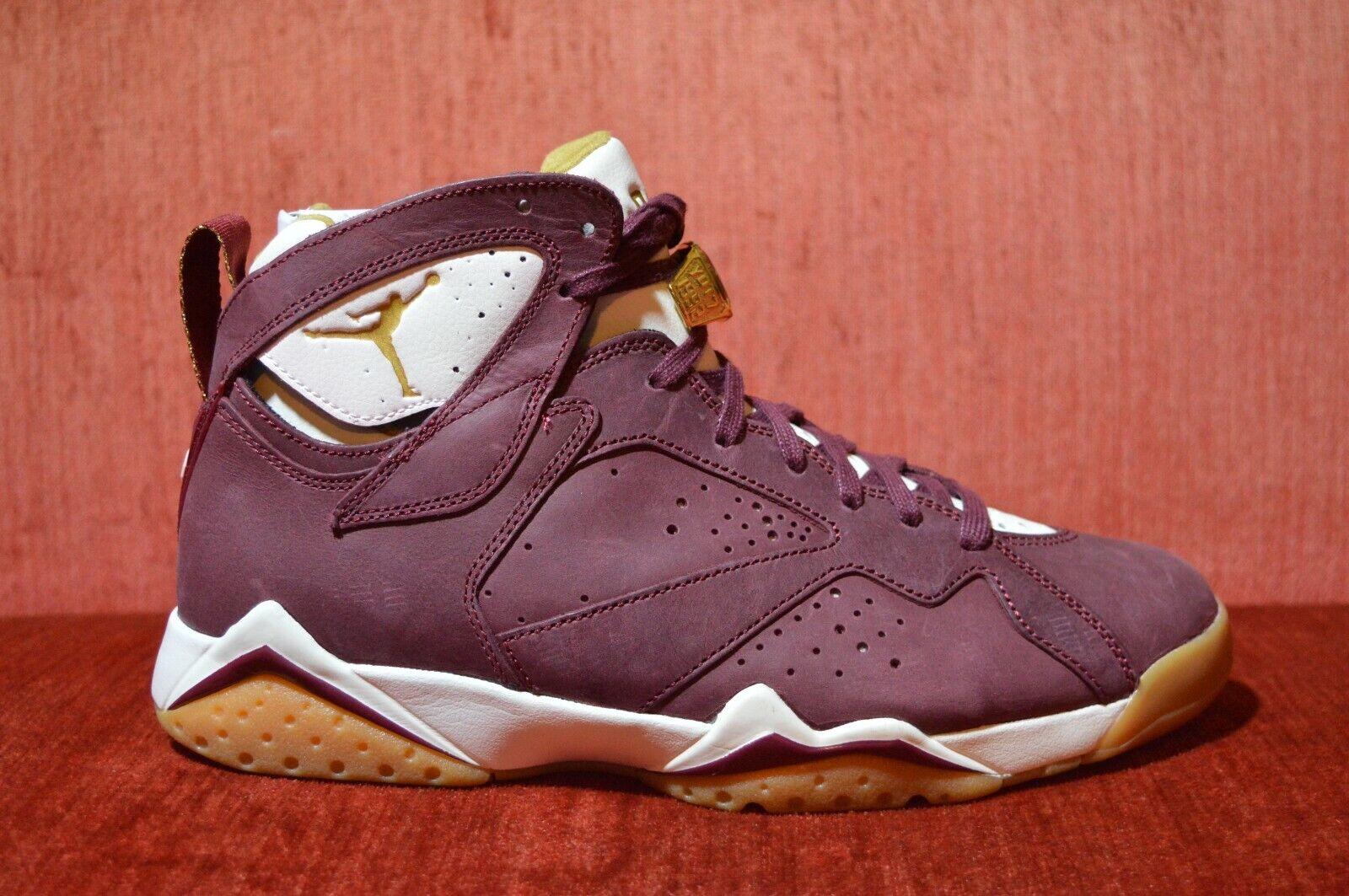 super popular 9c1a6 dc48e WORN ONCE Nike Air Jordan 7 Cigar C C Size 9 9 9 725093 630 Red Gum