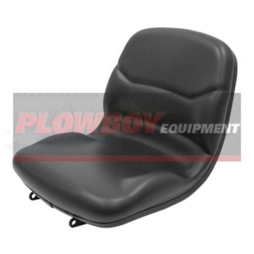 M805158 John Deere Compact Tractor Black Vinyl Seat 670 770 790 990 3005 4005