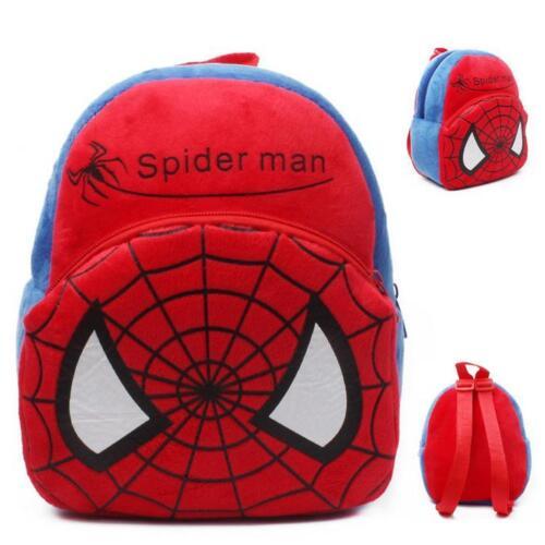 Boys Girls Kids Nursery Baby Infants Toddler Superhero Backpacks Small Mini Bags