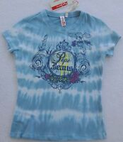 Pepe Jeans Girls Blue Tie Dye Top(size Medium 10/12)