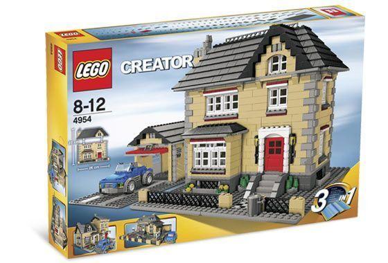 LEGO Creator  4954 modèle town house Difficile à trouver Neuf Scellé
