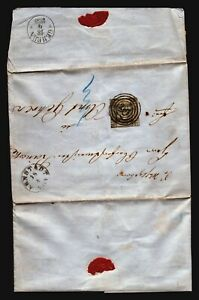 Germany-SC-3-on-1859-Cover-Will-Ship-Folded-Z17220