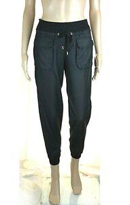 Pantaloni-Donna-VIOLET-ATOS-LOMBARDINI-Made-in-Italy-I133-Affusolato-Nero-Tg-40