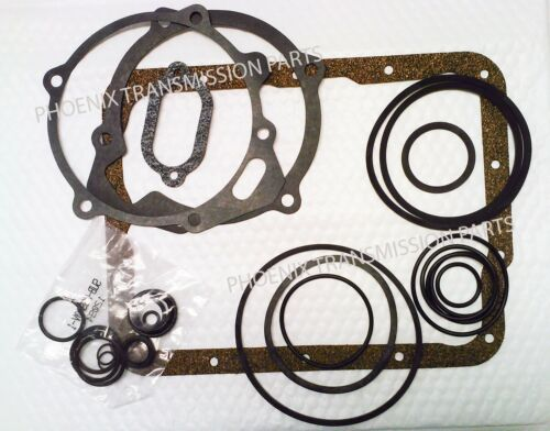 Small Case Transmission Rebuild Kit Gasket and Seal with Clutches 1951-1967 Ford