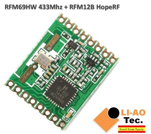 RFM69HW 433Mhz RFM12B HopeRF Wireless Transceiver RFM69HW-433S2