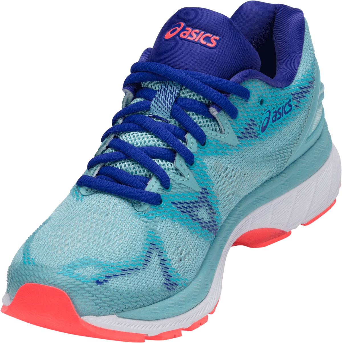Asics Gel-Nimbus 20 - Damen Laufschuhe - Freizeit - blau - T850N-1401