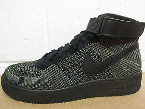 97c644959944b Nike AF1 Ultra Flyknit Mid Mens Trainers 817420 301 Sneakers Shoes ...
