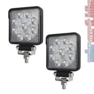 2x-Hella-LED-Arbeitsscheinwerfer-S1500-Nahfeld-12V-24V-Rueckfahrscheinwerfer