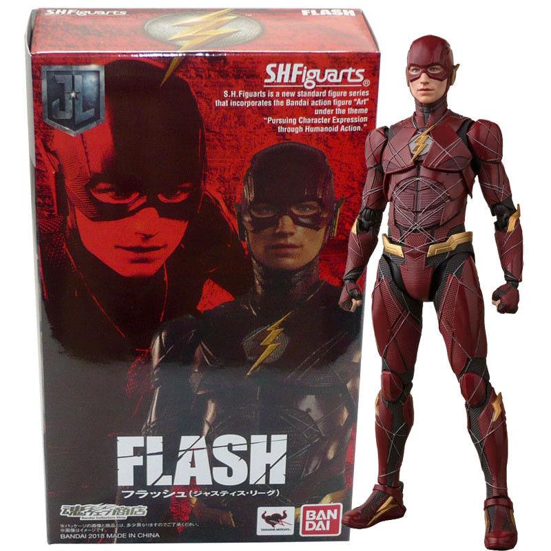 Beai Tamashii Limited S.H.Figuarts DC Comics Justice  League The Flash cifra  con il 100% di qualità e il 100% di servizio