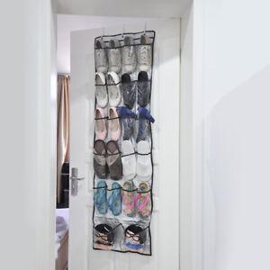 Image Is Loading Hanging Shoes Organiser Shoe Holder Storage Rack Slippers