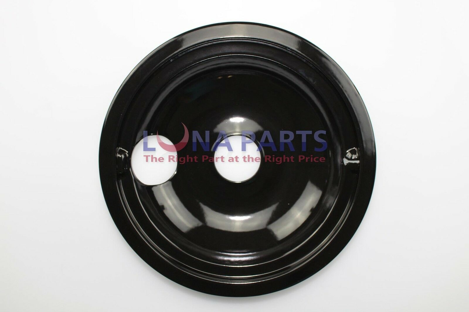 "Stove Range Cooktop 8/"" Black Porcelain Burner Drip Pan Bowl Y04100196 308649T"