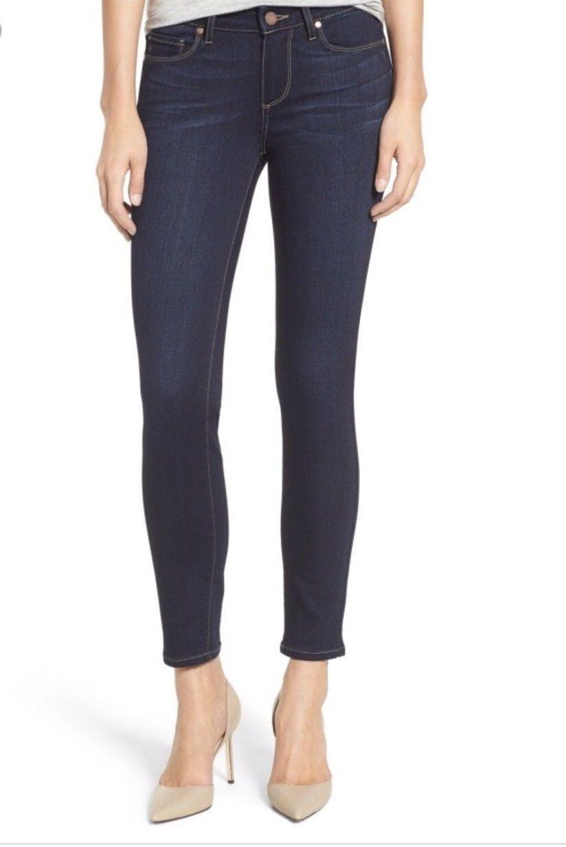 NEW Paige Verdugo Ankle Skinny Jean in Palmo bluee [SZ 26 ]  B983