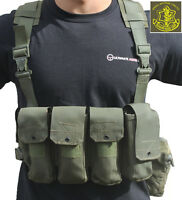 Genuine Army Surplus Idf Israeli Defense Forces Combat Harness Vest Chest Rig