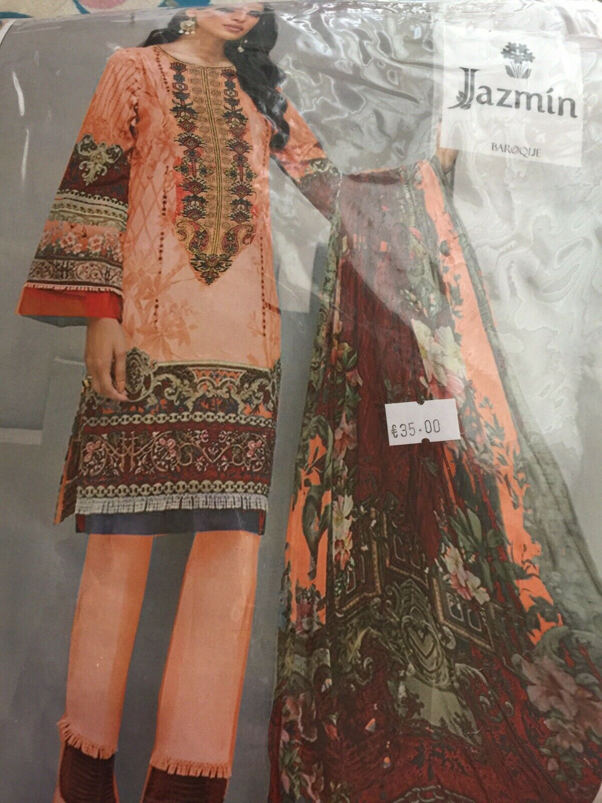 3 Pc Designer Salwar Kameez Kurta Suits Indian Pakistani Asian