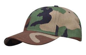 SincèRe Propper Us Baseball Cap Army Casquette Outdoor Loisirs A Wcp Woodland Camouflage-afficher Le Titre D'origine