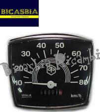 7464 - CONTACHILOMETRI A 80 KM VESPA 50 SPECIAL CON LOGO SOLO DA BICASBIA