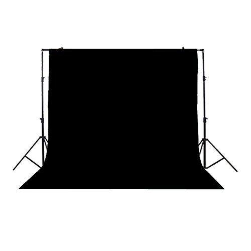 Photo Studio Background Cloth Backdrop Screen Non-woven Fabrics(3x3M Black)Y3Y5
